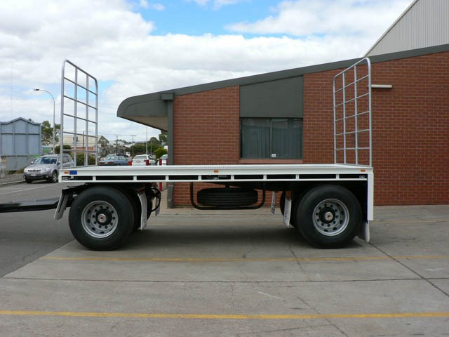 JG Schulz Motor Body Builders, Adelaide, South Australia - Trailers - Dog Trailer- Flat Top