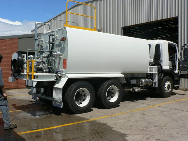 JG Schulz Motor Body Builders, Adelaide, South Australia - Tankers - Steel Water Tankers