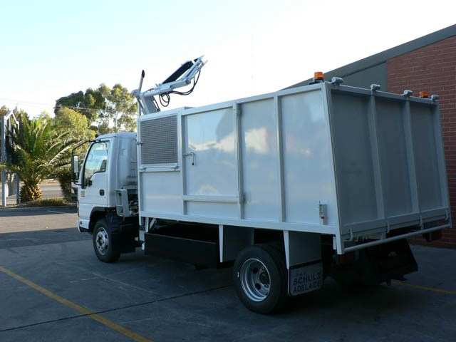 JG Schulz Motor Body Builders, Adelaide, South Australia - Tippers - Bin Lifter Tipper