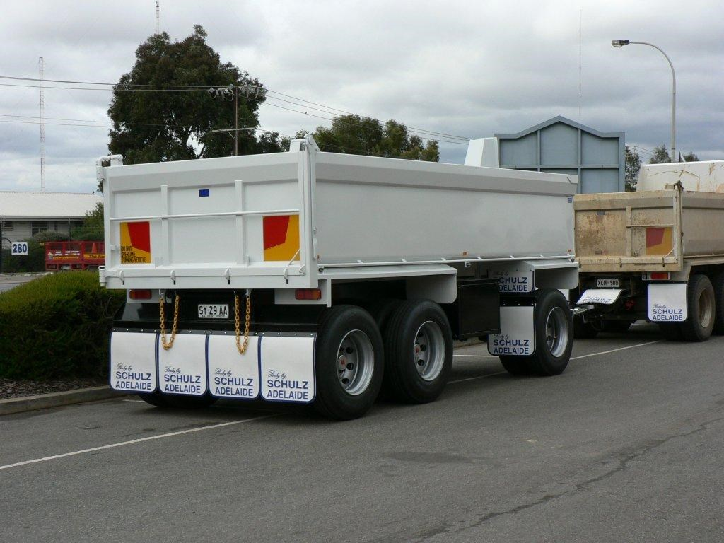 JG Schulz Motor Body Builders, Adelaide, South Australia - Trailers - Dog Trailer - Tipper