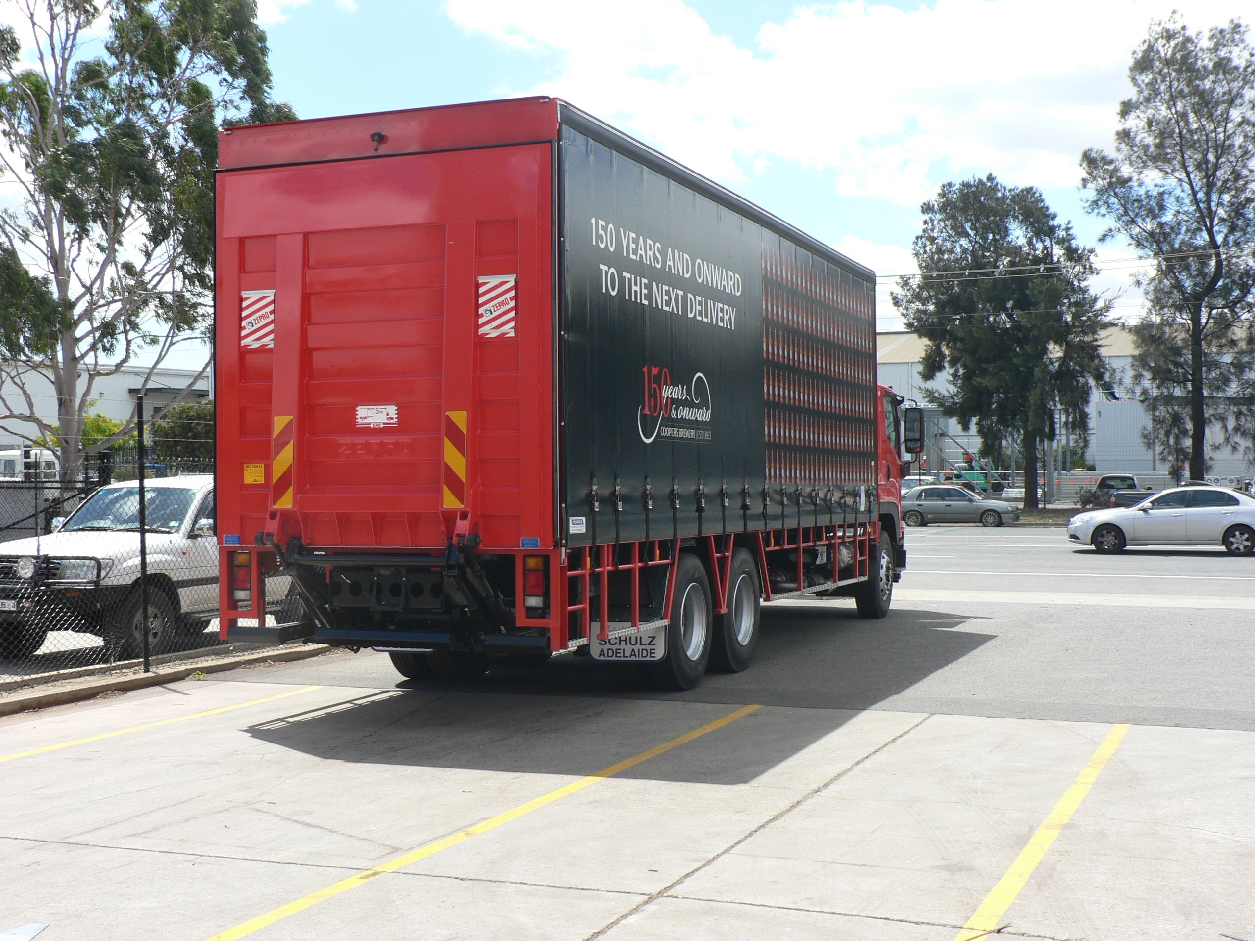 JG Schulz Motor Body Builders, Adelaide, South Australia - Curtain Siders - Tailgate Loader